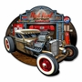Rat Rod Garage Metal Sign