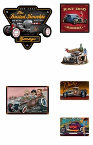 Items in Rat Rod Signs
