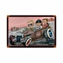 Rat Rod Tribute Metal Sign