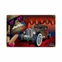 Rat Rod Voodoo Metal Sign