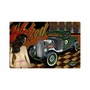 Rat Rod Wicked Ways Metal Sign