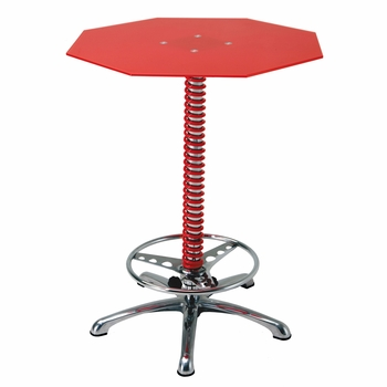 Red Car Bar Table