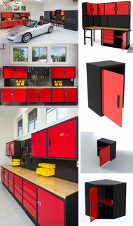 Items in Red Professional Grade Cabinets