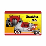 Roadsters Rule Metal Sign