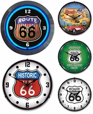 Items in Route 66 Clocks