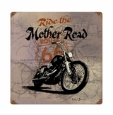 Route 66 Mother Metal Sign