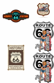 Items in Route 66 Signs