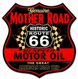 Route 66 The Mother Road Sign Metal Sign