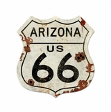 Route Arizona Us 66 Xxl Metal Sign