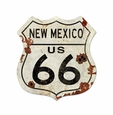 Route New Mexico Us 66 Metal Sign