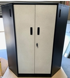 Sandstone Steel Corner Locker