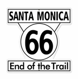 Santa Monica 66 Metal Sign
