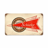 Schiefer Mfg Metal Sign