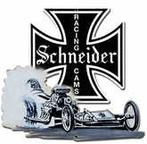 Schneider Racing Metal Sign