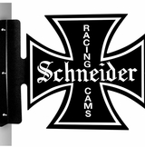 Schneider Racing Cams Metal Sign
