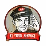Service Man Metal Sign