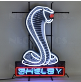 Shelby Cobra Neon Sign With Backing