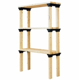 Shelf Link, Six Pack - Black