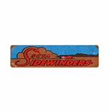 Sidewinders Metal Sign