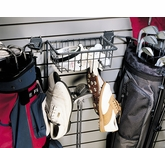 Slatwall Golf Rack and Basket