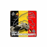 Spa-Francorchamps Metal Sign