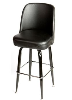 Square Frame Bar Stool With Back