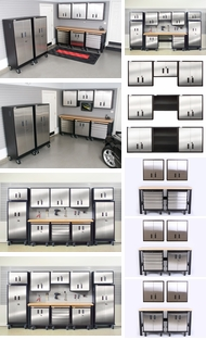 Items in Stainless and Steel Cabinets