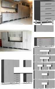 Items in Stardust Silver Metallic MDF Cabinets