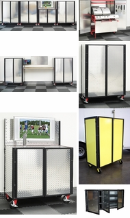 Items in Steel Framed Diamond Plate Cabinets