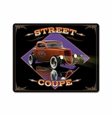 Street Coupe Vintage Metal Sign