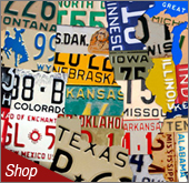 Street Signs and License Plate Signs