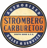 Stromberg Carbs Metal Sign