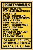 The Professionals Metal Sign