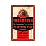 Thorobred Motor Oil Metal Sign