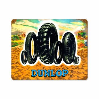 Tire Family Metal Sign