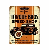 Torque Brothers 32 Coupe Metal Sign