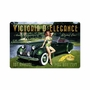 Victoria D Elegance Metal Sign