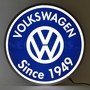 Volkswagen Since 1949 Backlit 15 Inch Led Lighted Sign