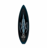 Von Hot Rod Surfboard Metal Sign