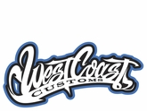 West Coast BBall Metal Sign