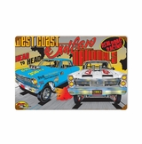 West Coast Outlaw Metal Sign