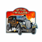 Wild 33 Willys 2 Metal Sign