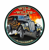 Wild Willys Metal Sign