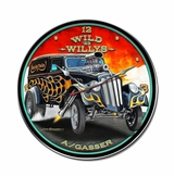 Wild Willys Metal Clock