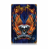 Wings Of Fire Metal Sign