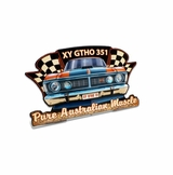 Xy Gtho 351 Topper Metal Sign