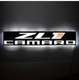 ZL1 Camaro Slim Led Sign