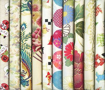 10 IVORY ASIAN FAT QUARTERS #25