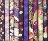 10 PURPLE ASIAN JAPANESE FAT QUARTERS II (2 1/2 Yds.)