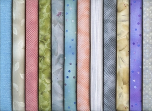 12 Pastel Tone-on-Tone Fat Quarters